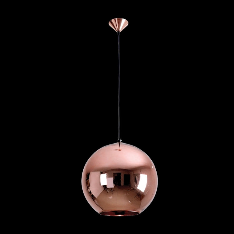 K. LIGHT - AMBER/CHROME/COPPER/SMOKE/WHITE SMALL GLASS BALL PENDANT 60W (CA-KLCH-108S)