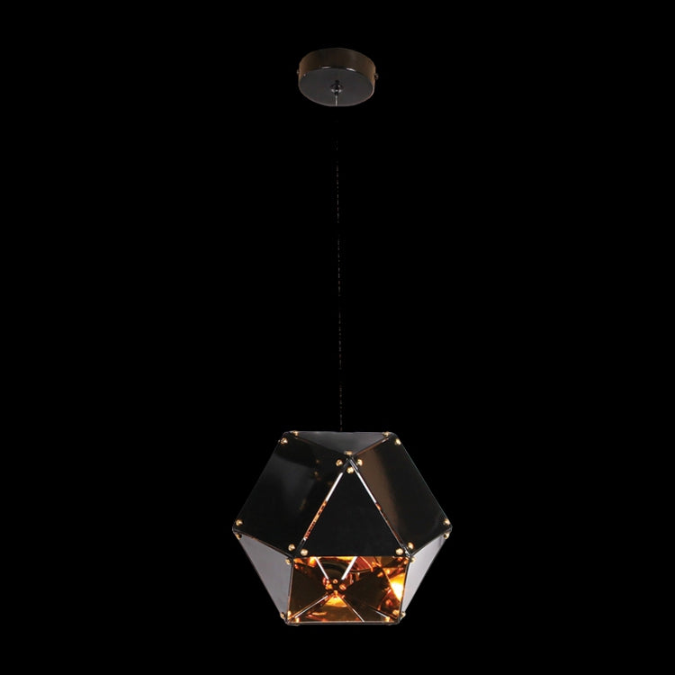 Load image into Gallery viewer, K. LIGHT - BLACK/WHITE 1 LIGHT MAGIC BOX PENDANT