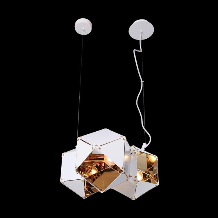 Load image into Gallery viewer, K. LIGHT - BLACK/WHITE 3 LIGHT MAGIC BOX PENDANT 3X40W ()GO-KLCH313-3/B, GO-KLCH313-3/W