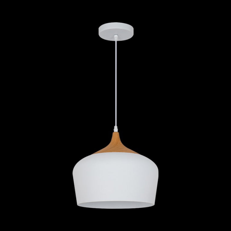 Load image into Gallery viewer, K. LIGHT - BLACK/WHITE SMALL ACORN METAL PENDANT 60W (H-KLCH-8130S/BL, H-KLCH-8130S/WH)