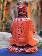 Vitarka Buddha on Lotus Sculpture (XL)