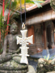 Motorcycle Cross Bone Necklace