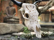Floral Bliss Cow Skull