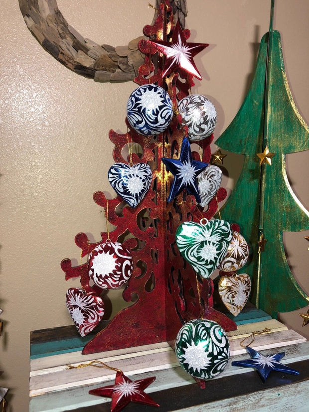 Premium Christmas Ornament Set