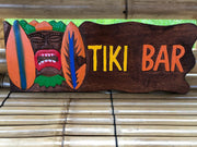 Tiki Wall Plaque