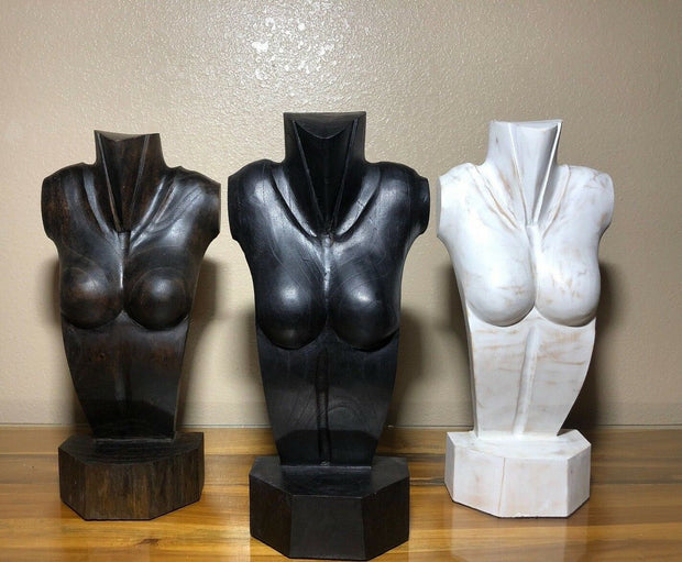 Nude Female Jewelry Display