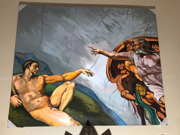 Creation of Adam-The Distraction