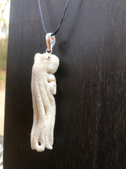 Rising Octopus Necklace - Antler