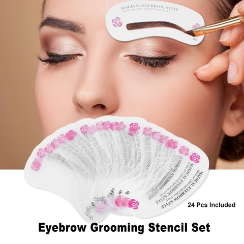 EYEBROW KITS WITH STENCILS