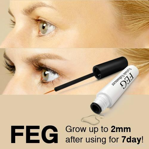 Natural Eyelash Growth Serum with Essential Oil