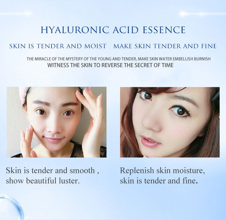 2pcs Hyaluronic Acid Serum Skin Repair Essence Whitening