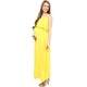 Maternity Maxi Dress Yellow