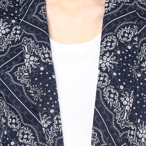 Trendy Maternity Printed Day Jacket