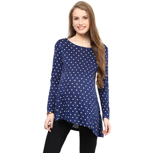 Mamacouture Maternity Polyester Spandex Top for Women