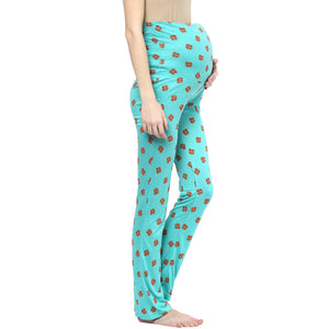 Mamacouture Maternity Pyjamas Green Polyester