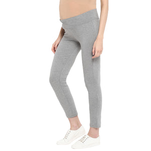 Maternity Tights/ Slacks Grey Underbelly