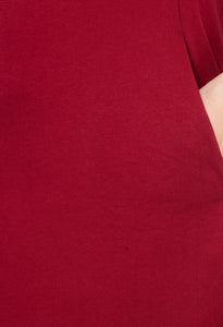 Mamacouture Maternity cum Nursing Night Dress Maroon-8