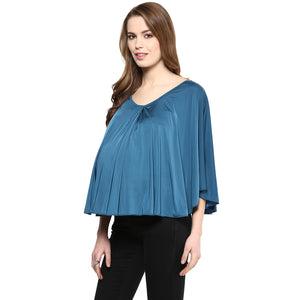 Maternity Teal color cape