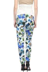 blue printed pregnancy pants_3