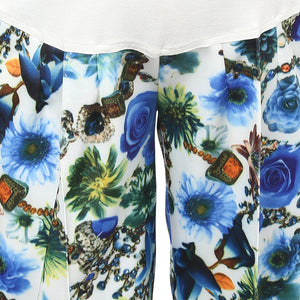 blue printed pregnancy pants_6