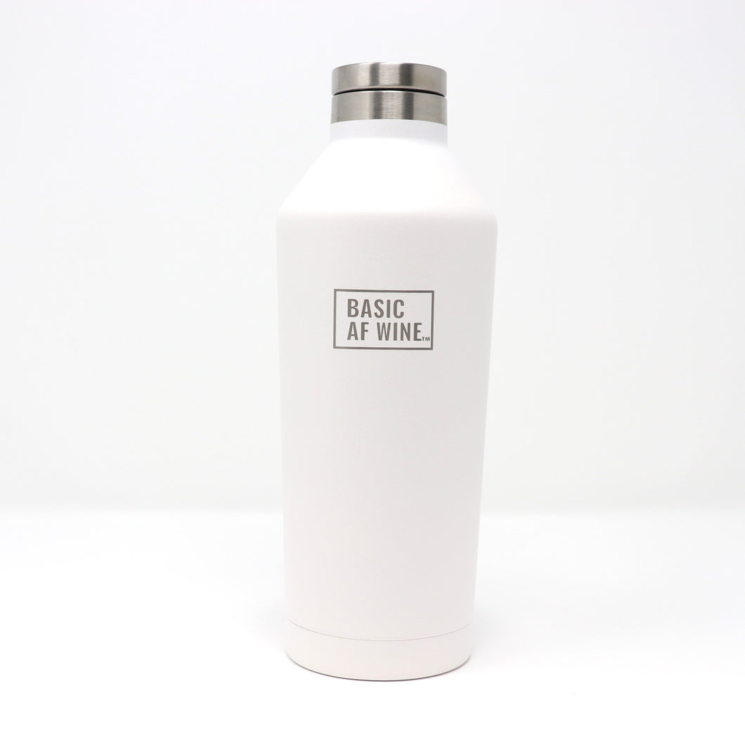 White Wine Bottle or Canteen