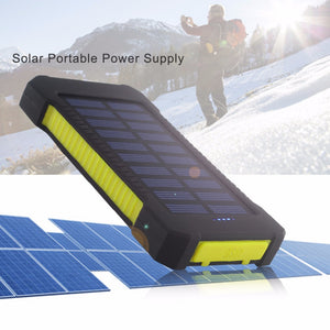 Outdoor Akku Pack mit Solar Panel