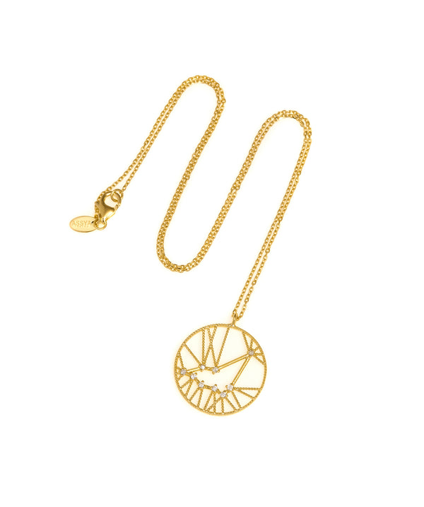 Capricorn Star Sign Necklace