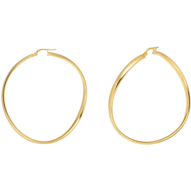 Casablanca Big Hoop Earrings