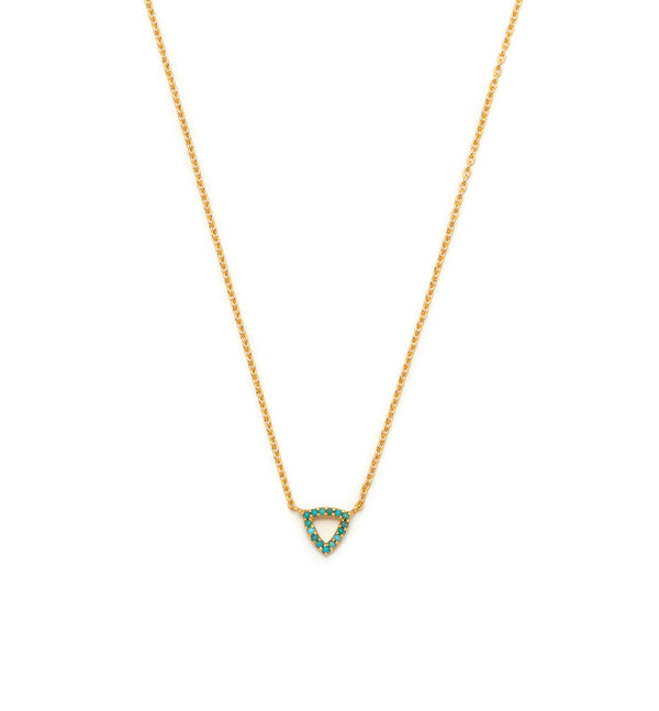 Elements Triangle Necklace