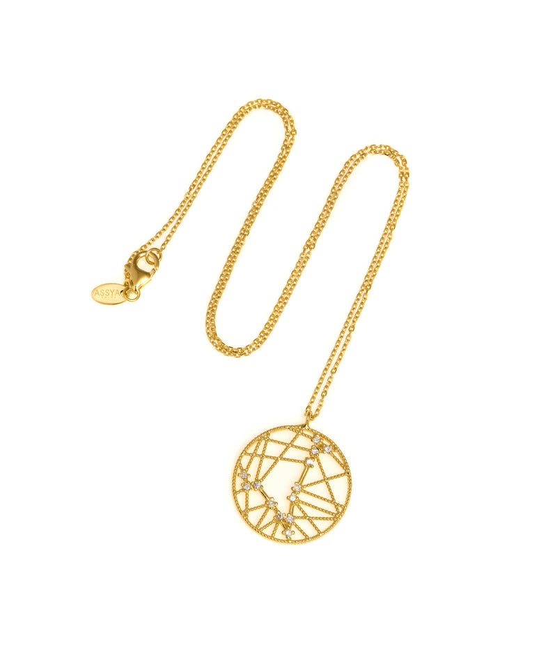 Pisces Sign Necklace