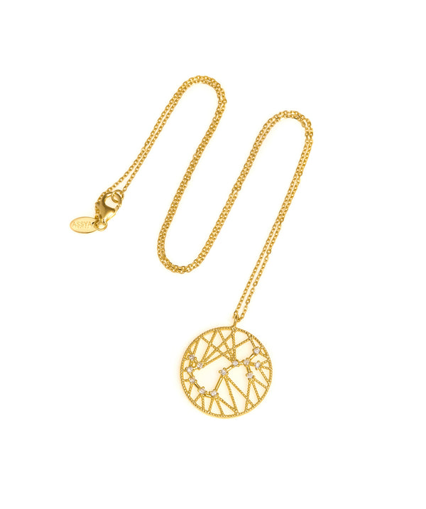 Scorpio Star Sign Necklace