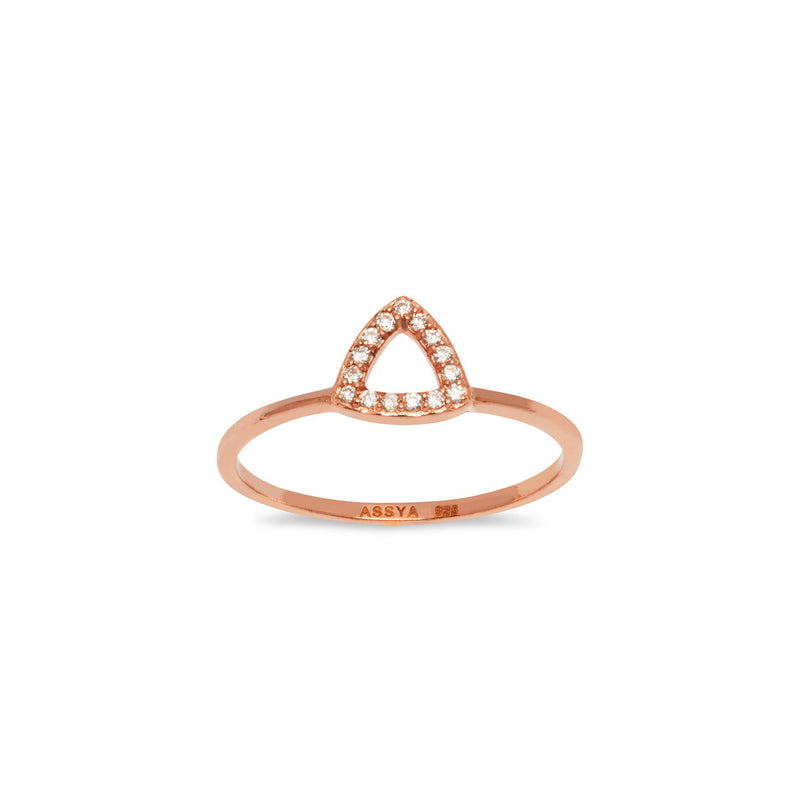 Elements Triangle Ring