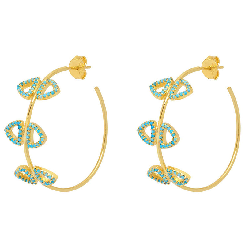 Elements Hoop Earrings