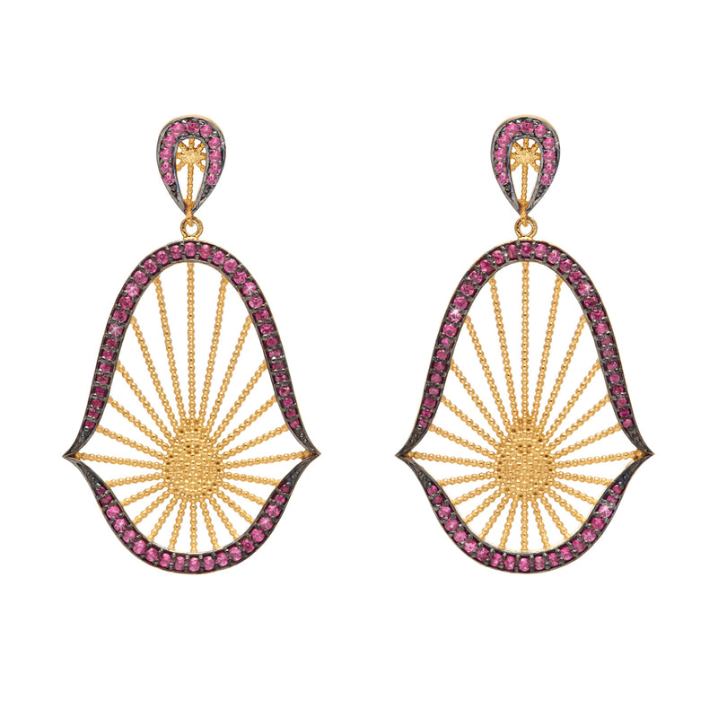 Oriental Statement Earrings