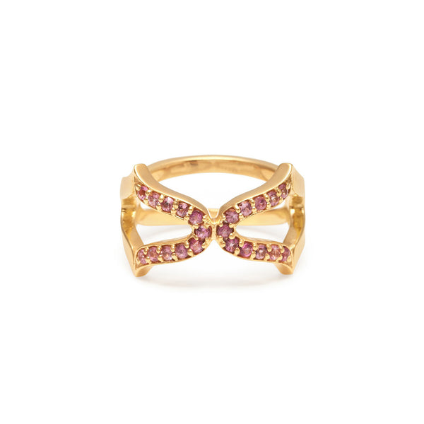 Oriental Cross Ring