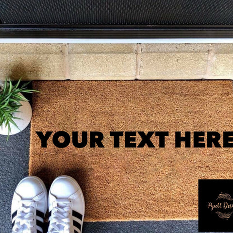 Customisable Door Mats