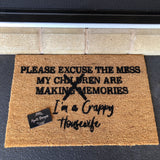 Children Making Memories Door Mat