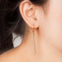 Load image into Gallery viewer, Olivia Hooked Rectangle Earrings