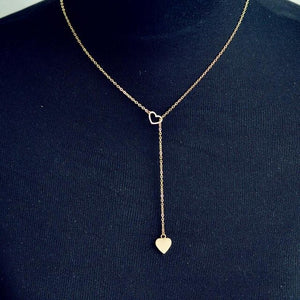 Sophie Necklace With Heart Pendant