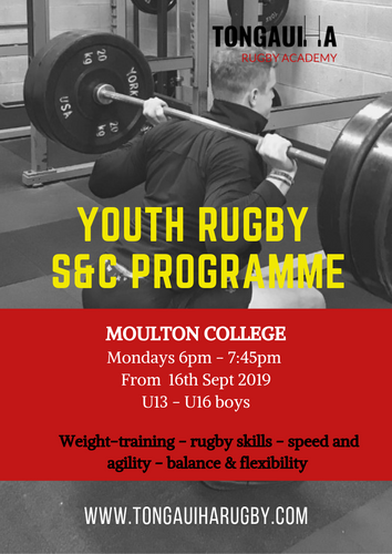 Junior Rugby S&C Programme