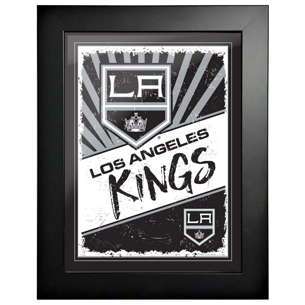 Los Angeles Kings 12 x 16 Classic Framed Artwork