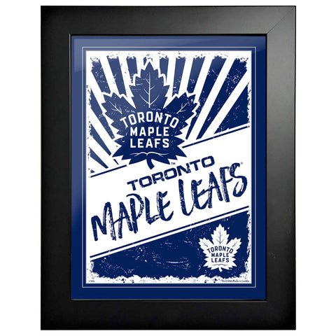 Toronto Maple Leafs 12x16 Classic Framed Artwork