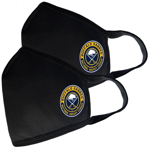 2 Pack Washable Reusable Fabric Face Cover w/Dust Filter Pocket – Buffalo Sabres