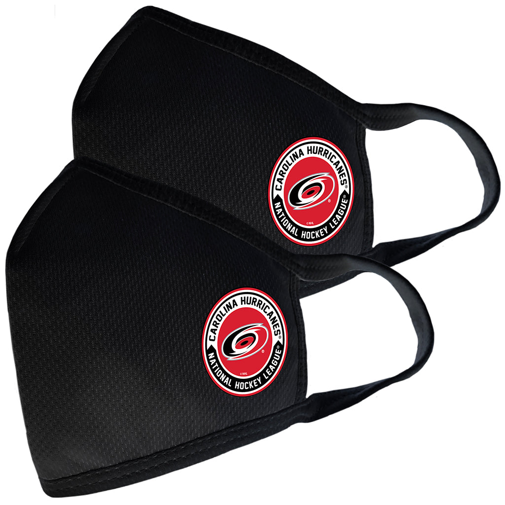 2 Pack Washable Reusable Fabric Face Cover w/Dust Filter Pocket – Carolina Hurricanes