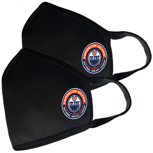2 Pack Washable Reusable Fabric Face Cover w/Dust Filter Pocket – Edmonton Oilers