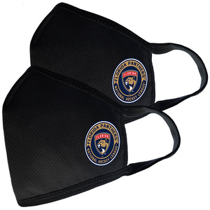 2 Pack Washable Reusable Fabric Face Cover w/Dust Filter Pocket – Florida Panthers