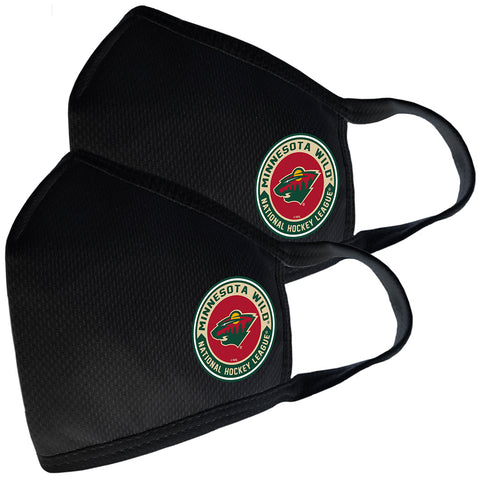 2 Pack Washable Reusable Fabric Face Cover w/Dust Filter Pocket – Minnesota Wild