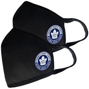 2 Pack Washable Reusable Fabric Face Cover w/Dust Filter Pocket – Toronto Maple Leafs