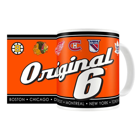 Original Six 15oz SCRIPT Sublimated Mug