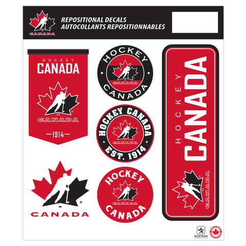 Team Canada 12x14 Respositional Wall Decal Pack